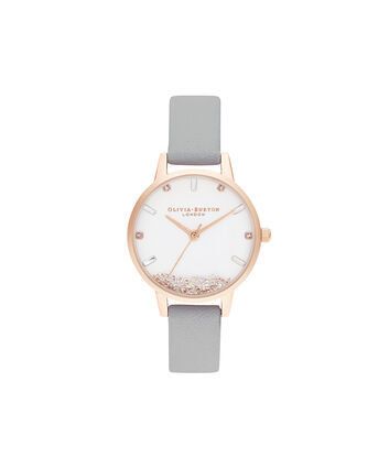 OLIVIA BURTON LONDON The Wishing Watch Gris Et Or Rose OB16SG08 – The Wishing Watch Gris Et Or Rose - Front view