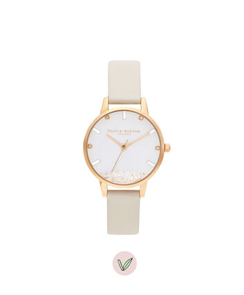 OLIVIA BURTON LONDON The Wishing Watch Végane Nude et OrOB16SG09 – The Wishing Watch Bracelet En Or  - Front view